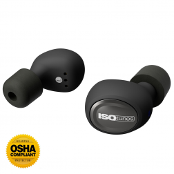 ISOTunes FREE Wireless Noise Cancelling Bluetooth Earbuds