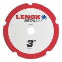 "Lenox METALMAX Cut-Off Wheel - 3"" Diameter, .050"" Thickness, 3/8"" Arbor, 1972918"