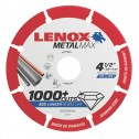 "Lenox METALMAX Cut-Off Wheel - 4.5"" Diameter, .050"" Thickness, 7/8"" Arbor, 1972921"