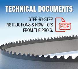 Technical documents bandsawbladesdirect band saw blade technical tips greentooth Image collections